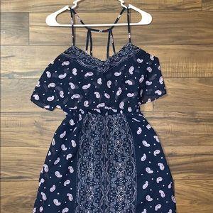 Princess Vera Wang Blue Maxi Dress